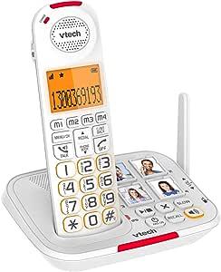 VTech CLS17450 Careline Dect6.0 Cordless Phone White