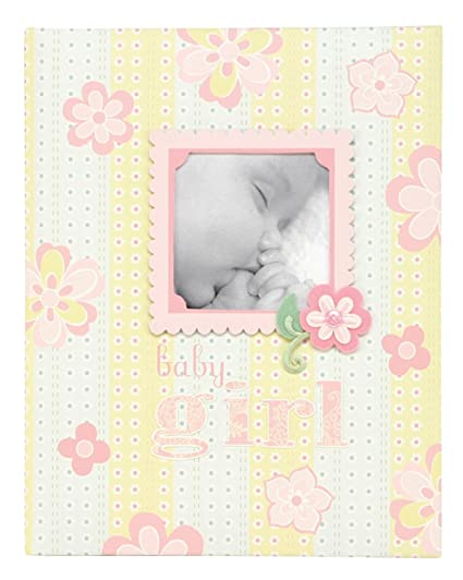CRG 5-Year Loose Leaf Baby Memory Book Bella