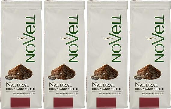 Cafes Novell Café Natural Molido - 4 Paquetes de 250g: Amazon.es ...