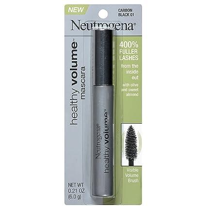 Amazon.com: Neutrogena cosméticos saludable volumen máscara ...