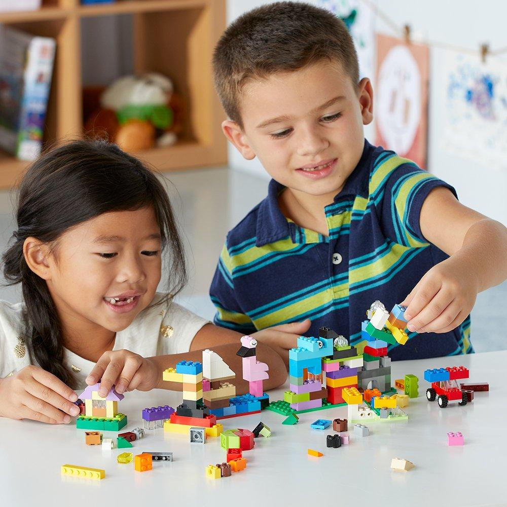Image result for kids building legos