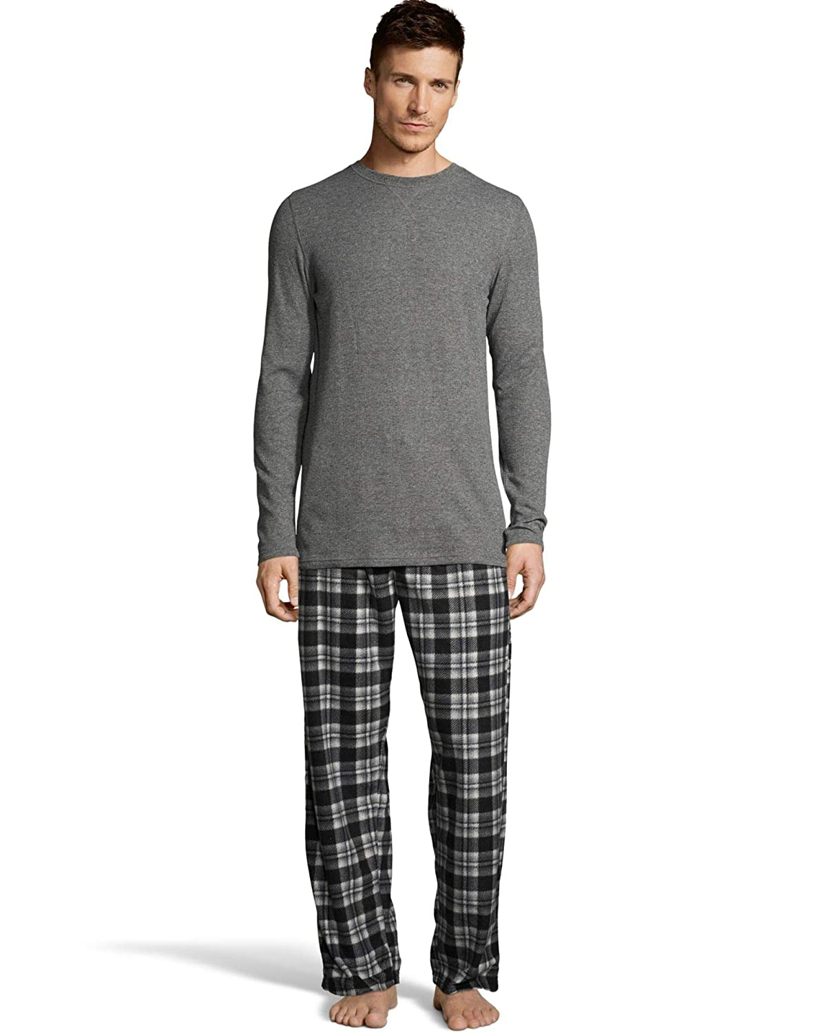 Hanes X-Temp Men`s Microfleece Sleep Set 03018/03018X