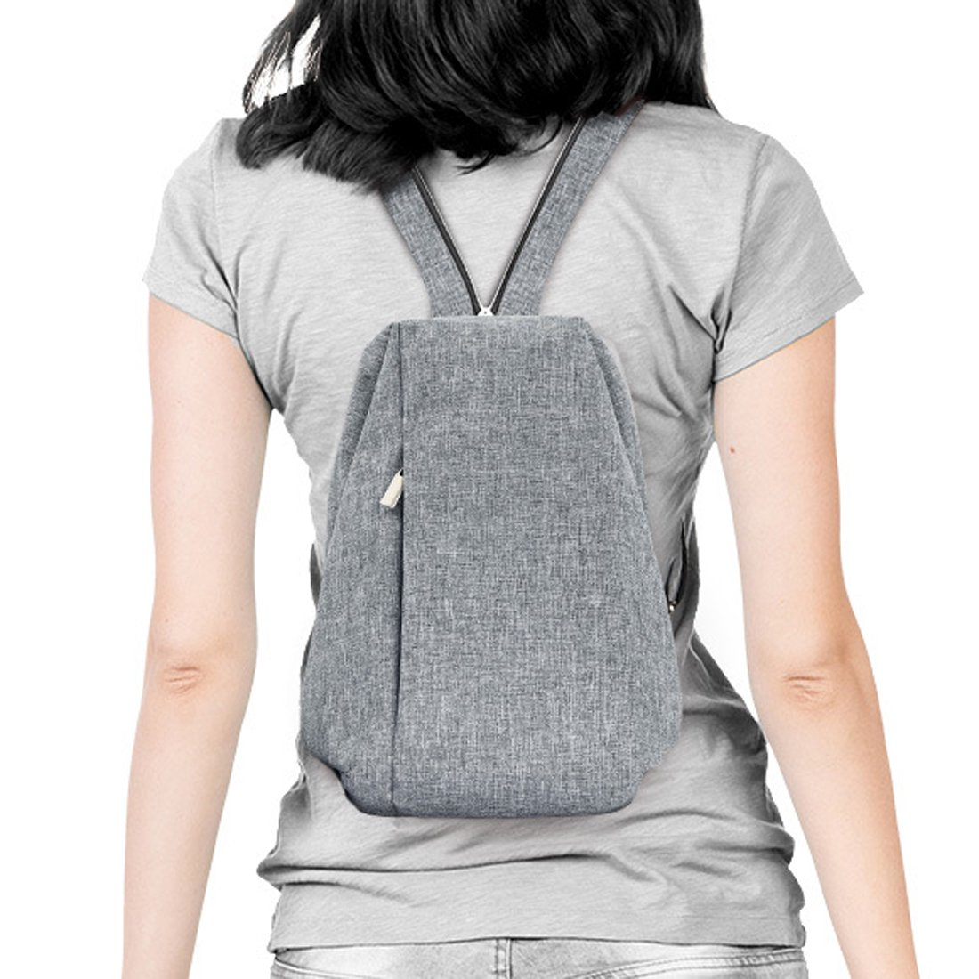 85498d0172c4 Heartbeat Anti-Theft Waterproof Cross-Small Crossbody Backpack for ...