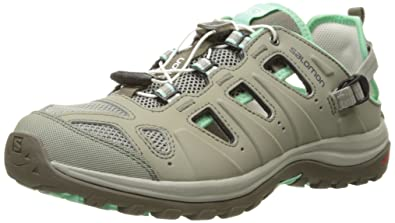 Salomon Womens Ellipse Cabrio-W, Dark Titanium/Lucite Green, ...
