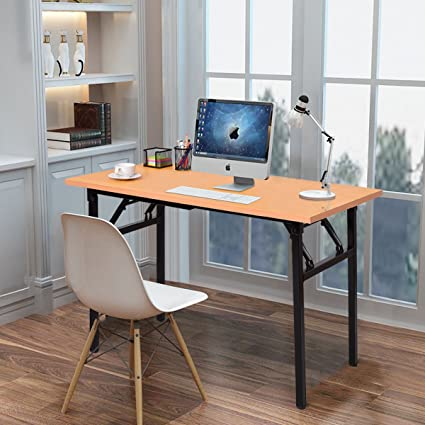D Tangkula Computer Desk Folding Table Home Office Workstation