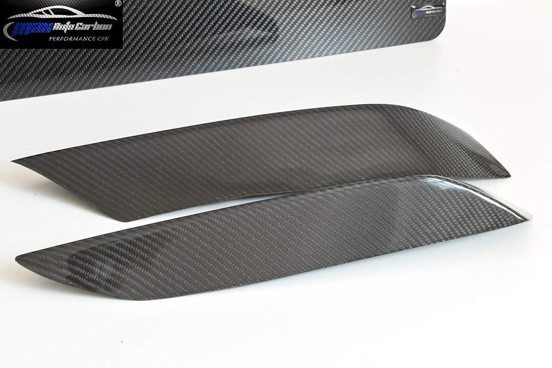 las esquinas encaja para M3 F80 M4 F82 F83 MAX Auto Carbon completo Carbon Vollcarbon Echt Carbon Frontal Flaps Lippe Spoiler arriba