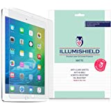 iLLumiShield - Apple iPad Air 2 Matte Screen Protector (2014) (6th Generation) with Lifetime Replacement Warranty / Anti-Glare HD Clear Film / Anti-Bubble & Anti-Fingerprint / Premium Japanese High Definition Invisible Crystal Shield - [2-Pack] Retail Packaging (6th Gen)