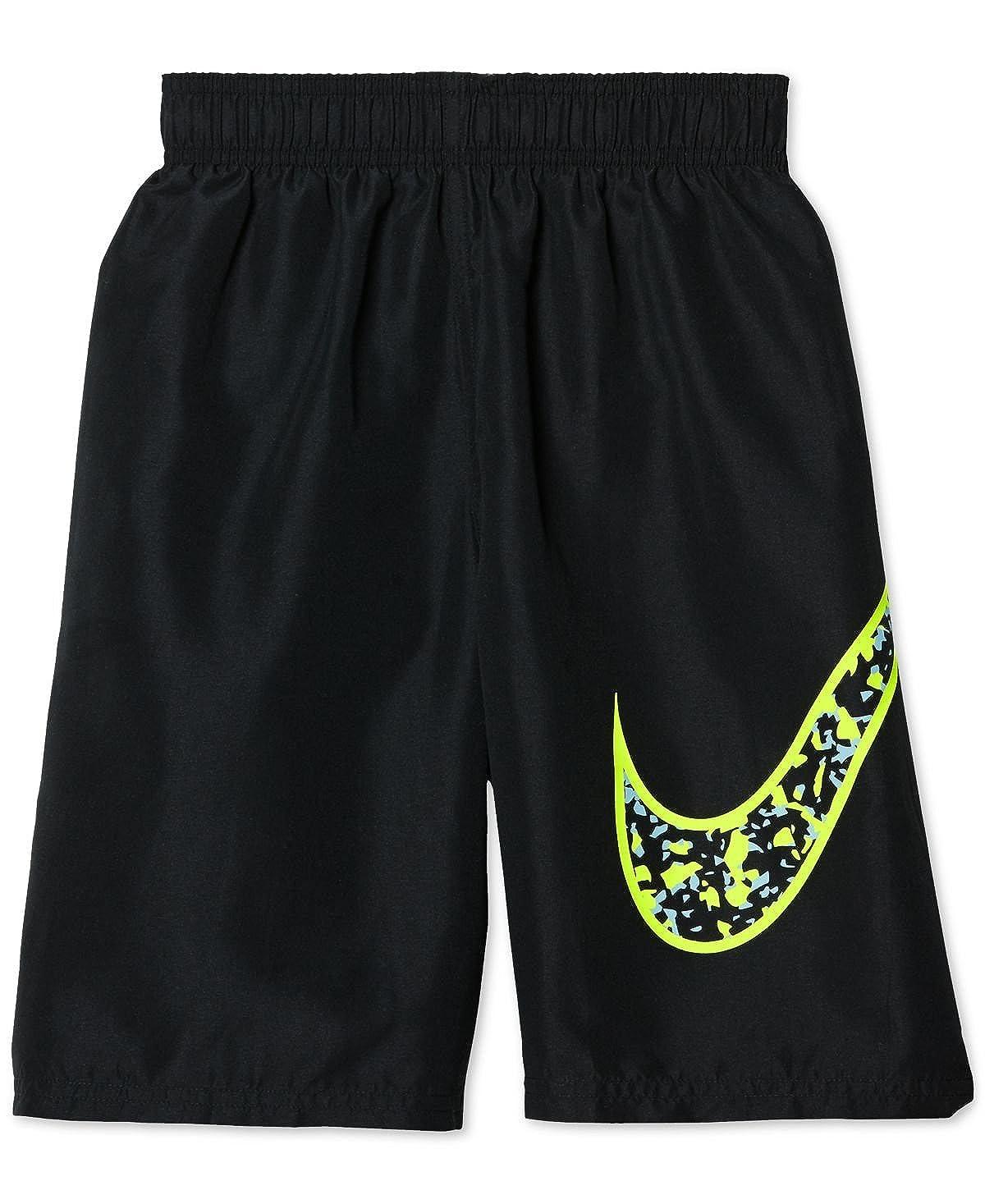 Big Boys 8-20 Nike Core Swoosh Volley Shorts Swim Trunks