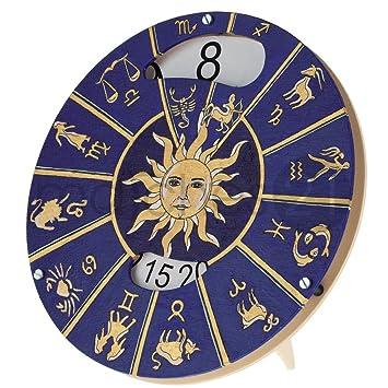 Uhr ohne zeiger vorlage  matches21 Wanduhr Uhr ohne Zeiger Bausatz zum Selberbauen aus Holz ...