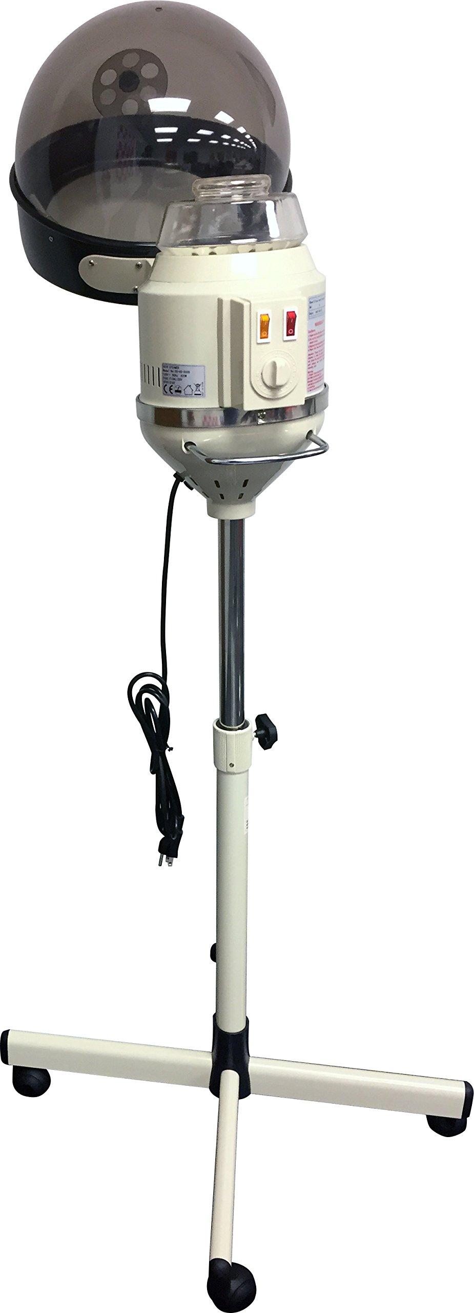 D Salon Portable Professional Salon Hair Steamer With Rolling Stand Base Hood Salon Beauty Spa by D Salon (Image #5)