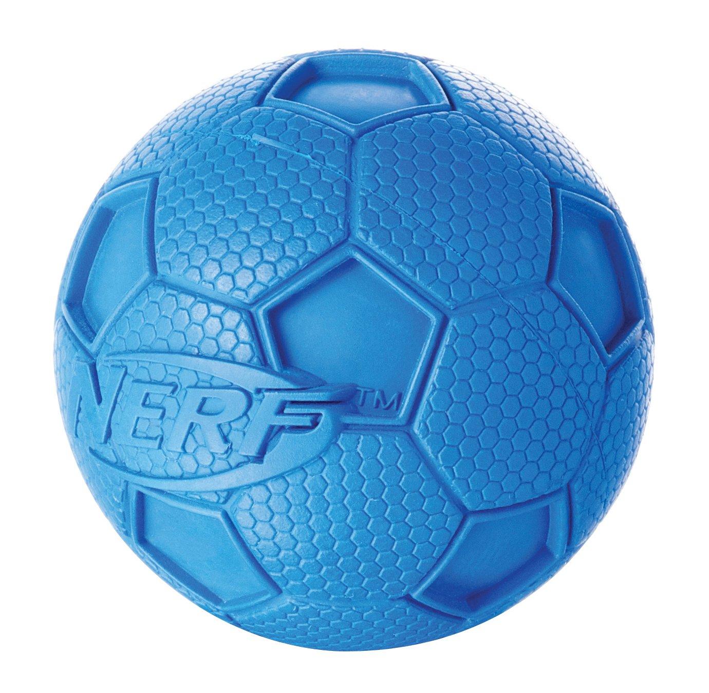NERF Tamaño del balón de fútbol de goma SQUEAKER pequeños juegos ...