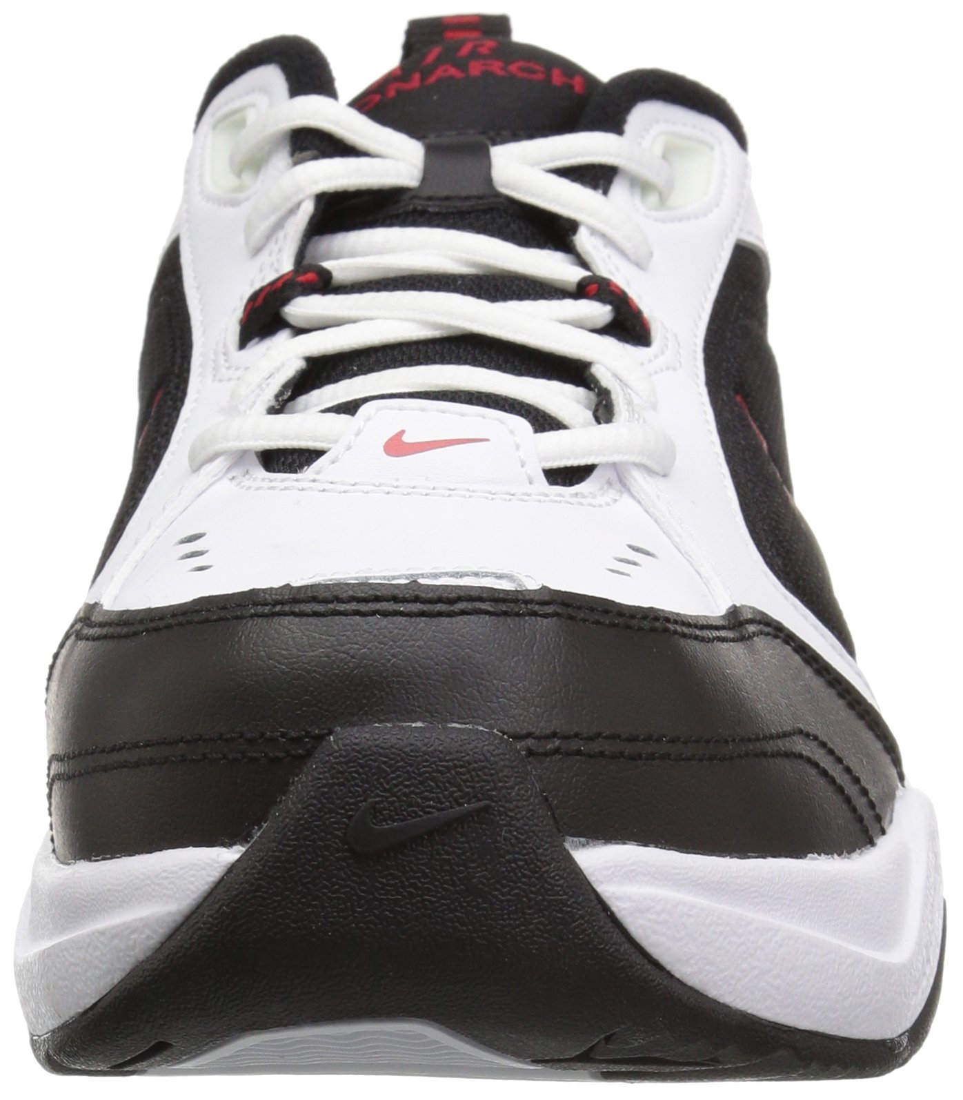 Nike Men's Air Monarch IV Cross Trainer, White/Black, 6.0 Regular US by Nike (Image #4)