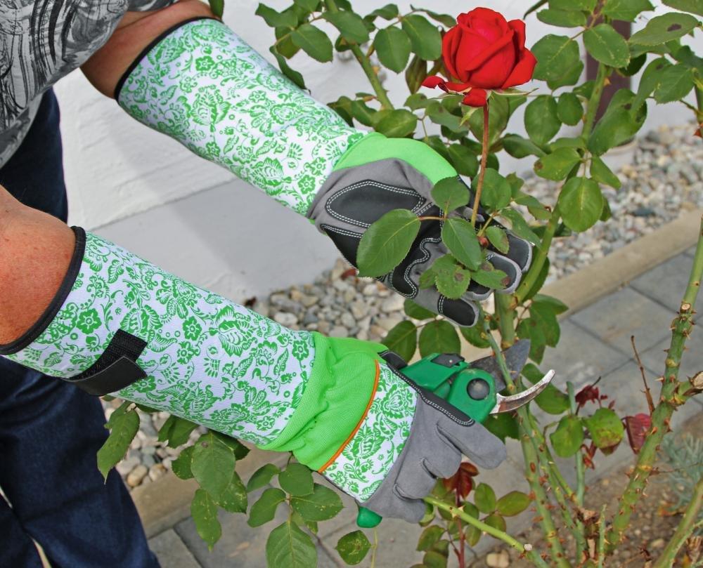 Kerbl Guanti da giardinaggio Rose Garden Taglia 8//M Guanto Rose spinato protezione