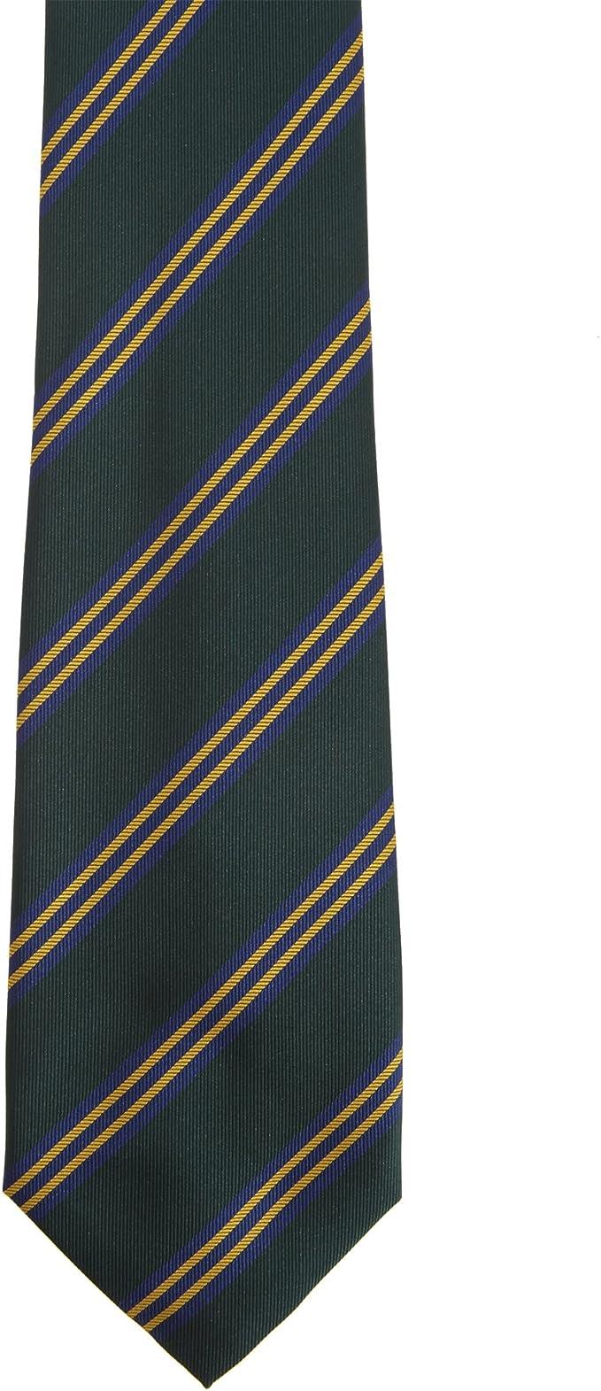 Premier Tie - Corbata de Lineas inclinadas Hombre Caballero ...