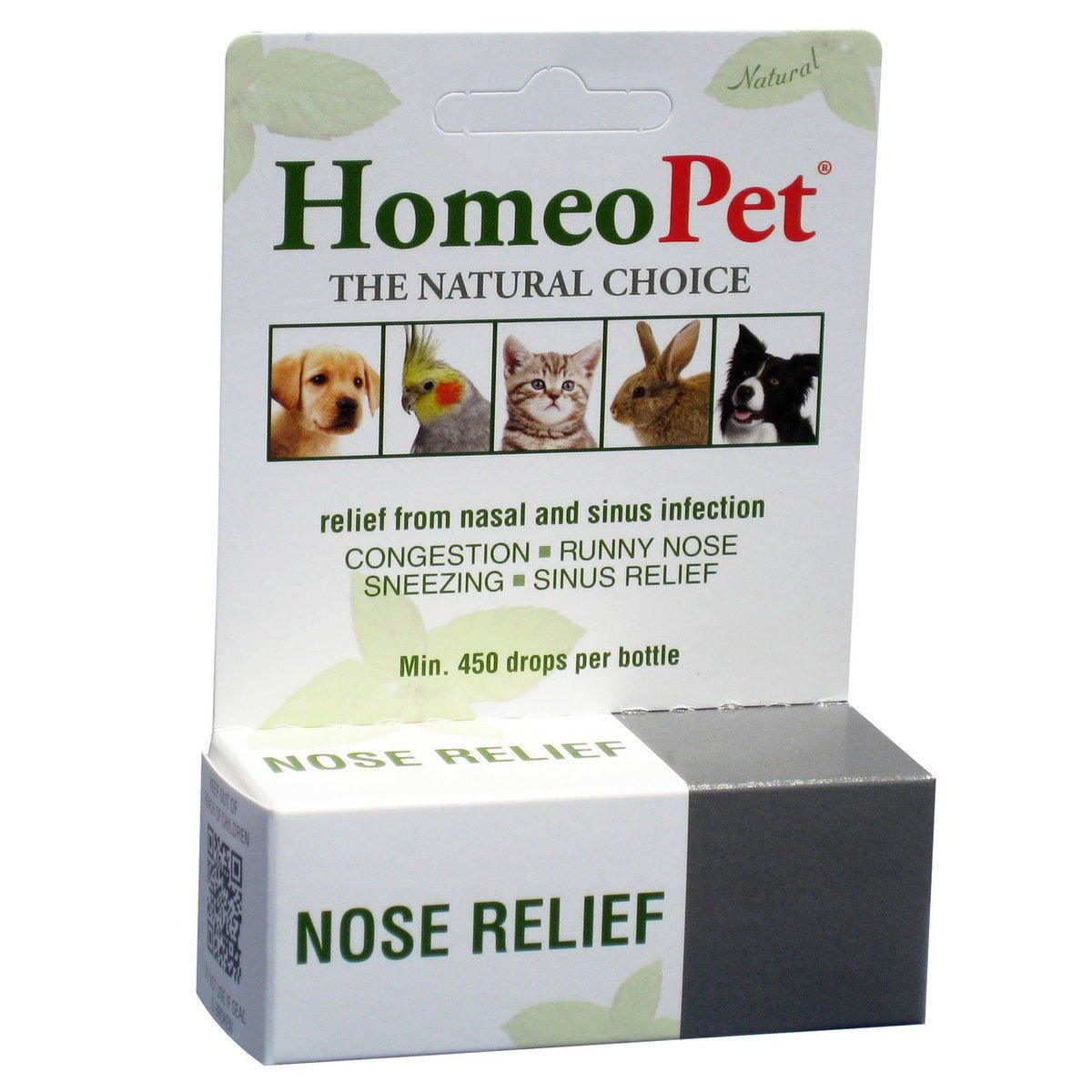HomeoPet Nose Relief Nasal & Sinus Infection 15ml