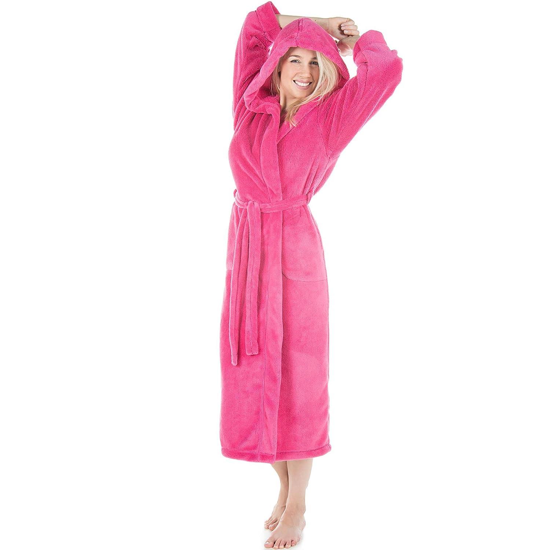 Celin ATEX Samos Bathrobe/Dressing Gown/Sauna Wellness Spa Size XS–XXXL Pure Longer Length Jacket With Hood for men and women