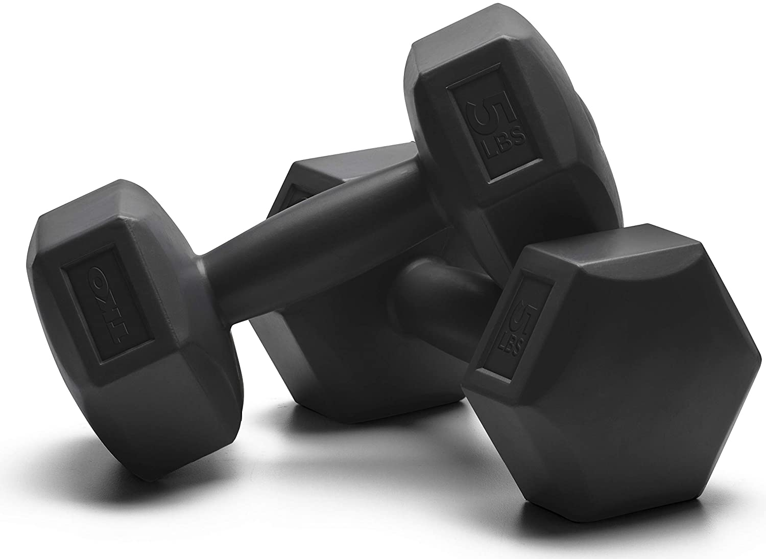 amazon com tko extreme dumbbells with special coating (10 lbsamazon com tko extreme dumbbells with special coating (10 lbs hexagon set (5 lbs each) black) sports \u0026 outdoors