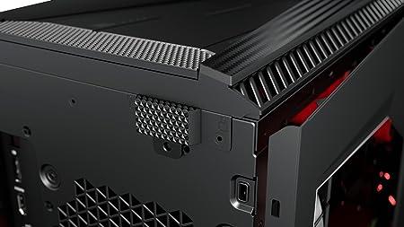 HP Omen 880-018ns - Ordenador de sobremesa (AMD Ryzen 7 1800X, RAM de 16 GB, HDD de 2 TB, SSD de 256 GB, NVIDIA GeForce GTX 1070, sin sistema operativo) color negro: Amazon.es: Informática