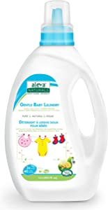 Aleva Naturals Gentle Baby Laundry, (40 Loads) 40 fl.oz / 1.02L