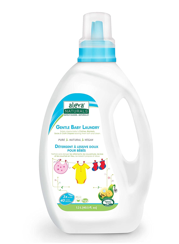 Aleva Naturals Gentle Baby Laundry, 3X, (40 Loads) 40 fl.oz (pack of 2) D&G Laboratories inc.