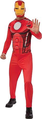 Marvel - Disfraz de Iron Man para hombre, Talla XL adulto (Rubies ...