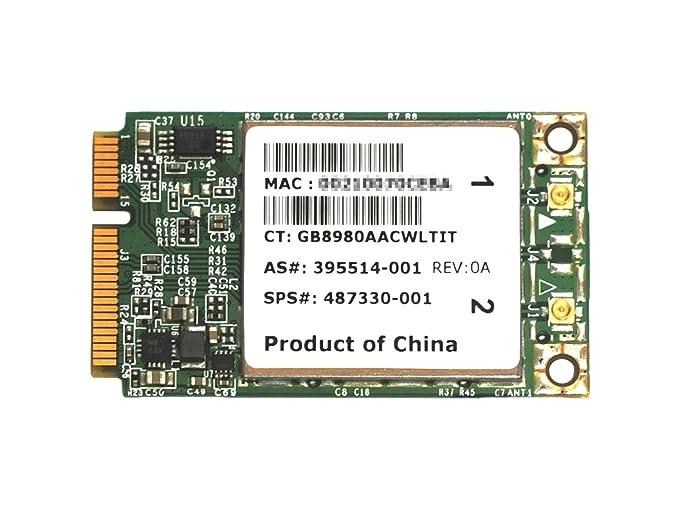 BROADCOM BCM94322MC WIRELESS N WIFI CARD HP 395514-001 MINI-PCI-E
