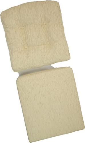 Set of 2 Cushion for Lounge Chair only Cushions , Cream