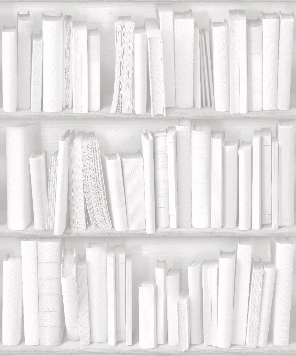 Muriva Books White Wallpaper Amazoncouk Kitchen Home