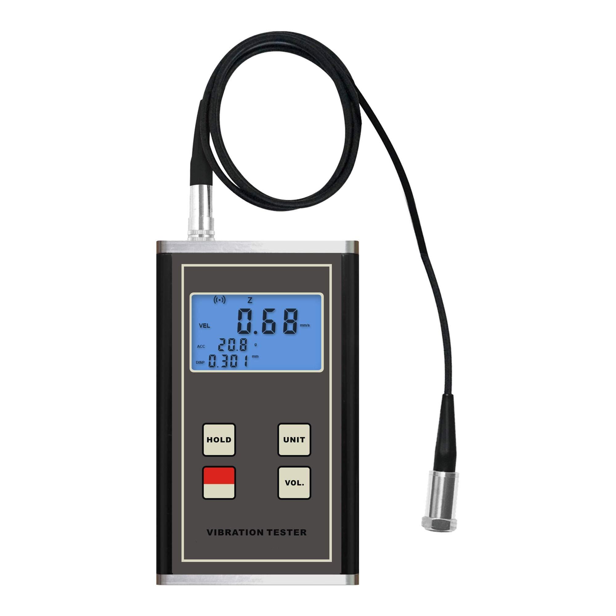GAO-VIB-104 Vibration Meter with Good Accelerometer (Vibration Measure), Piezoelectric Vibration Sensor,2.0 v AC Load Resistance 10 k Output,Wide Frequency Range, Accelerometer.