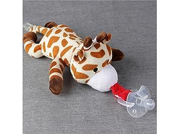 Precioso Dentición del bebé Chupete Clip chupete de bebé ...