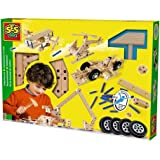 SES Creative Deluxe Carpentry Wood Building Playset