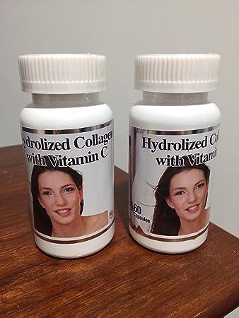 Pack of 2 Hydrolized Collagen with Vitamin C (Colageno hidrolizado Con Vitamina C) Salud