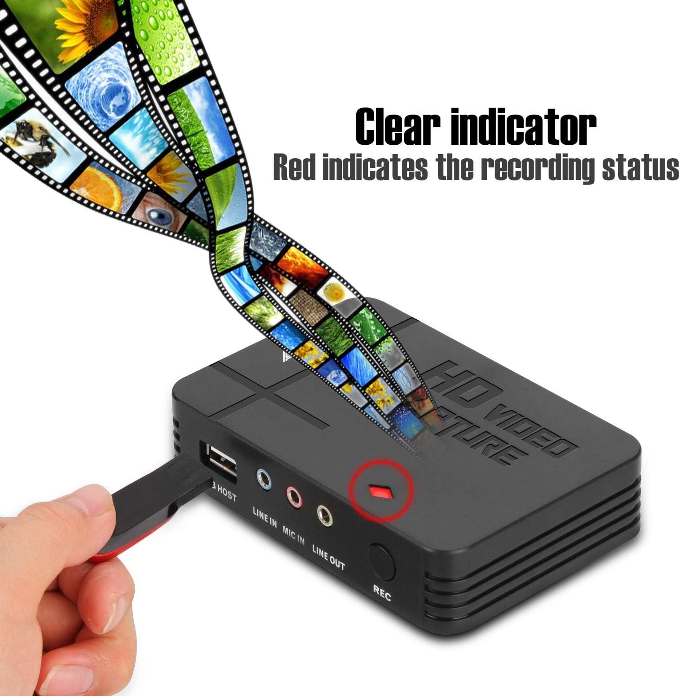 Enregistreur AV d/écran TFT de 3 Convertisseur audio et vid/éo Convertisseur denregistrement vid/éo Copiez les fichiers de la carte SD Enregistreur de capture denregistrement vid/éo Video Recorder