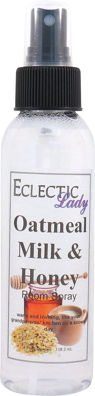 Eclectic Lady La leche de avena y miel sala de aerosol 4 onzas de fluidos: Amazon.es: Belleza