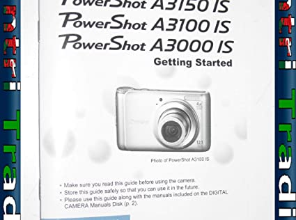 Canon a3150 is user manual | 147 pages | also for: a3100 is, a3000 is.
