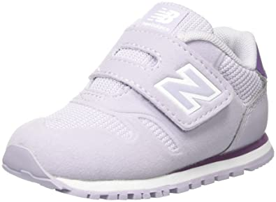 New Balance 574v1, Baskets Mixte Enfant, Violet (Purple/White), 32.5 EU