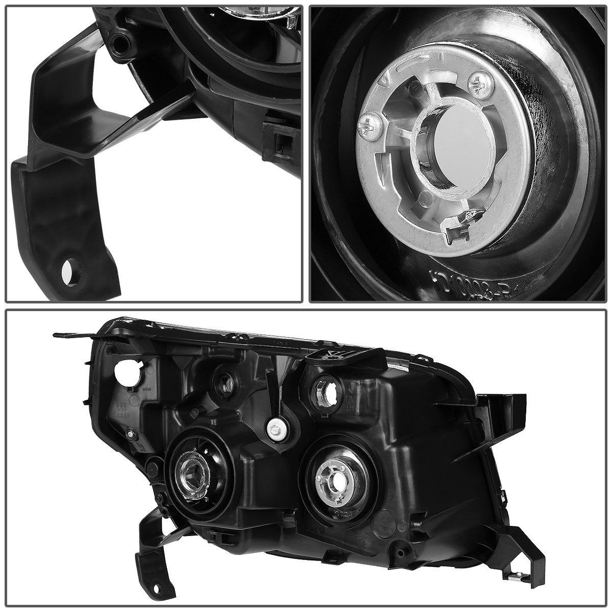 DNA Motoring HL-OH-045-SM-CL1 Pair of Headlight For 06-08 Honda Pilot
