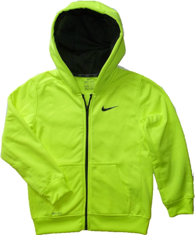 Nike Toddler /& Little Boys Therma-Fit Hoodie Zip Front Sweatshirt
