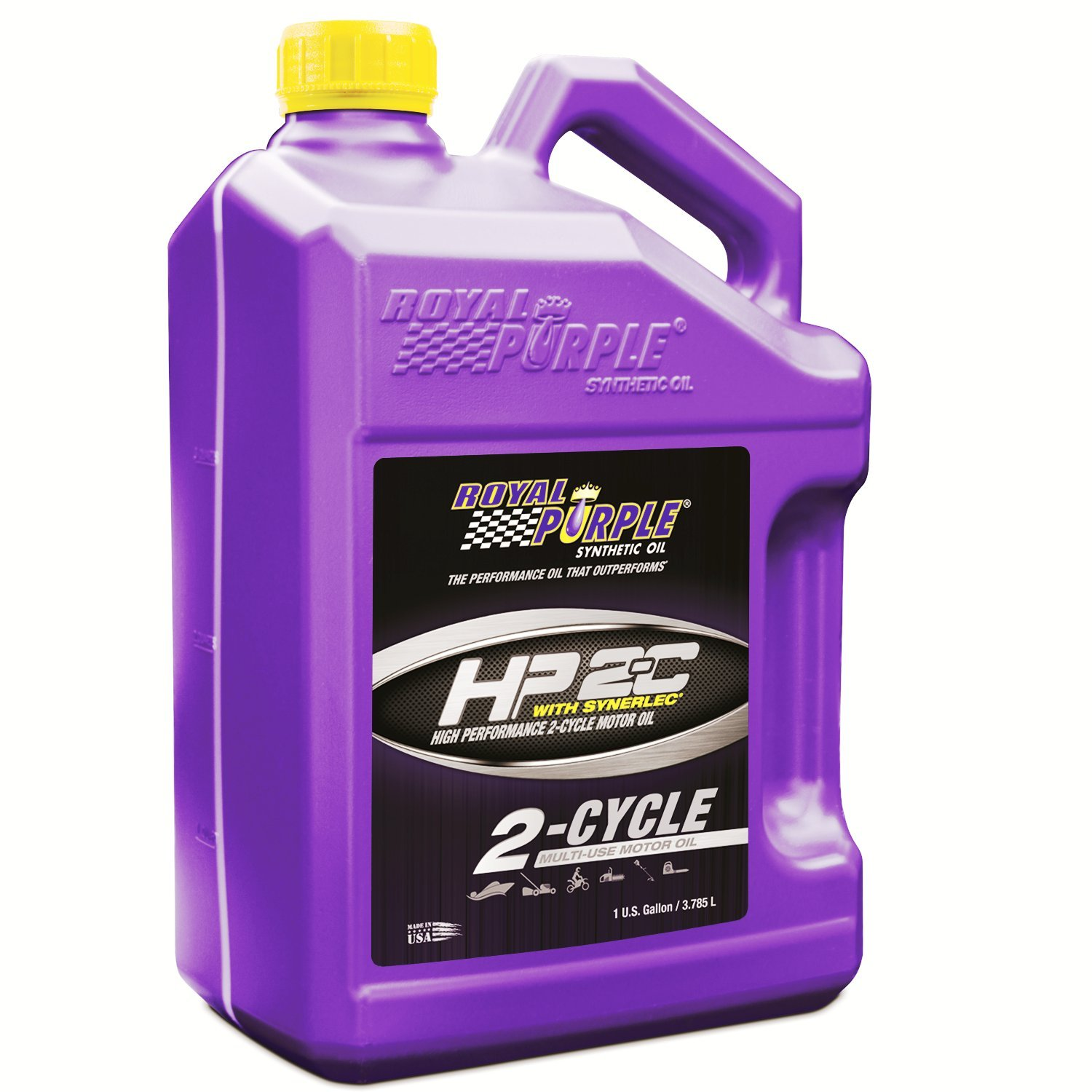 Royal Purple 01311 HP 2-C High Performance Synthetic 2-Cycle Oil, 1 Quart Bottle ROY01311