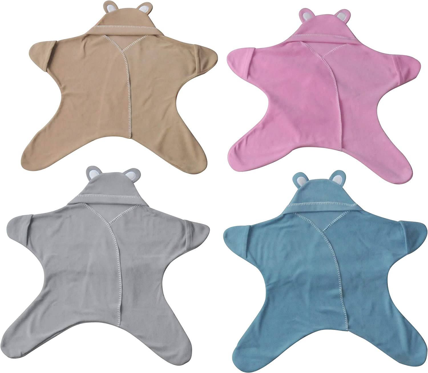 Use in Strollers /& Car Seats Super Soft The Perfect Gift 12 Month/'s  Boy//Girl Baby Wrap Blanket in Luxury Gift Box by Baby Bliss /® Swaddle//Star Wrap Fleece for Newborns Infants /& Toddlers 2