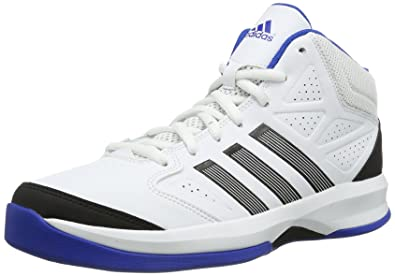 quality design 89cce 579ff adidas Isolation G98708 Herren Basketballschuhe, Weiß (Running White Ftw    Black 1   Blue