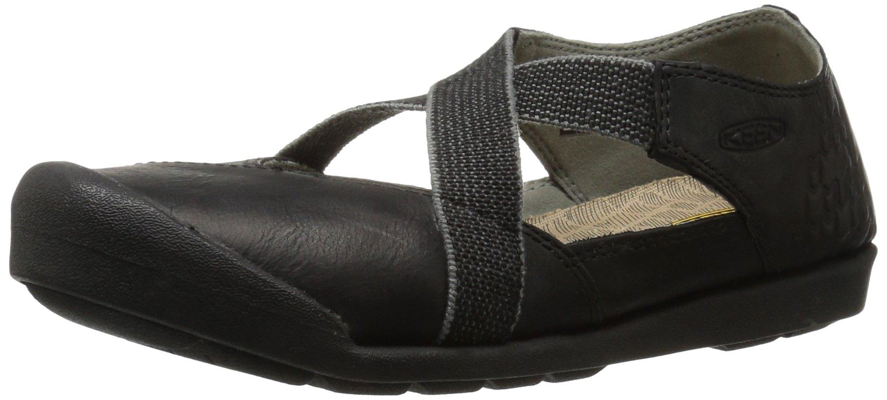 KEEN Women's Lower East Side MJ Hiking Shoe, Grey/Black, 8.5 M US