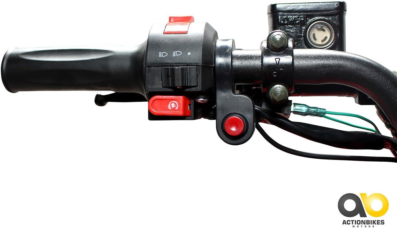 Kinder Elektro Quad S-10 1000 Watt Miniquad Midiquad Metallic//Rot