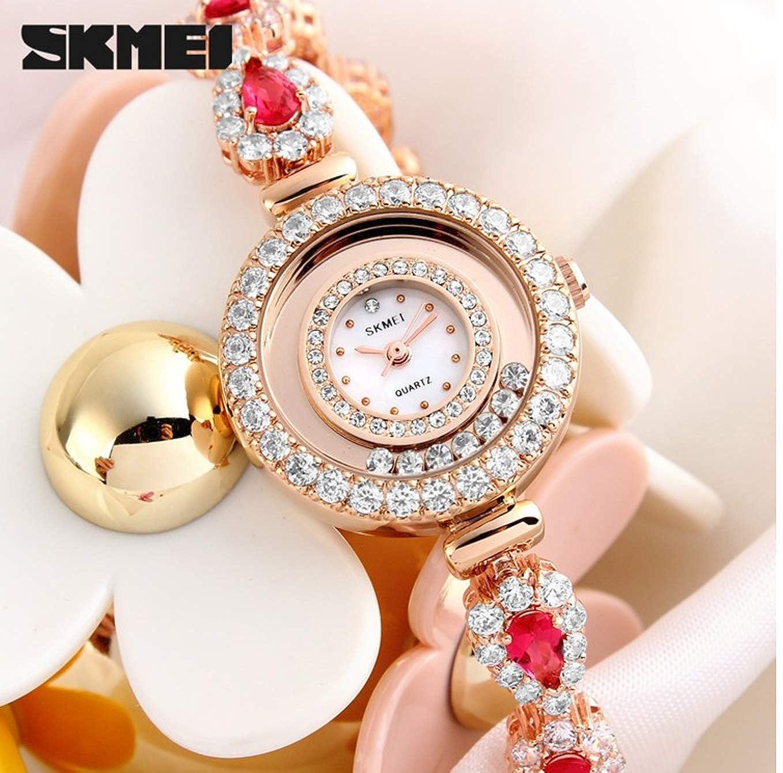 Amazon.com: Quartz Watch Women Luxury SKMEI 1199 Ladies Watches Fashion Casual Dress Relogio Feminino Montre Femme Reloj Mujer: Watches
