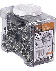Halex 05103B 3/8-Inch Non Metallic Clamp Connector