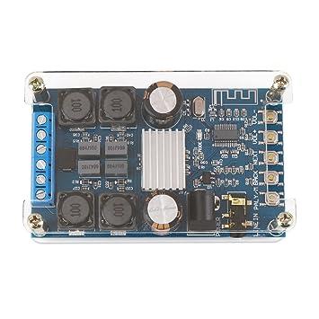 Droking Placa amplificadora Bluetooth, Amplificador Digital inalámbrico BT 3.0/4.0/4.1 Audífonos Amplificador