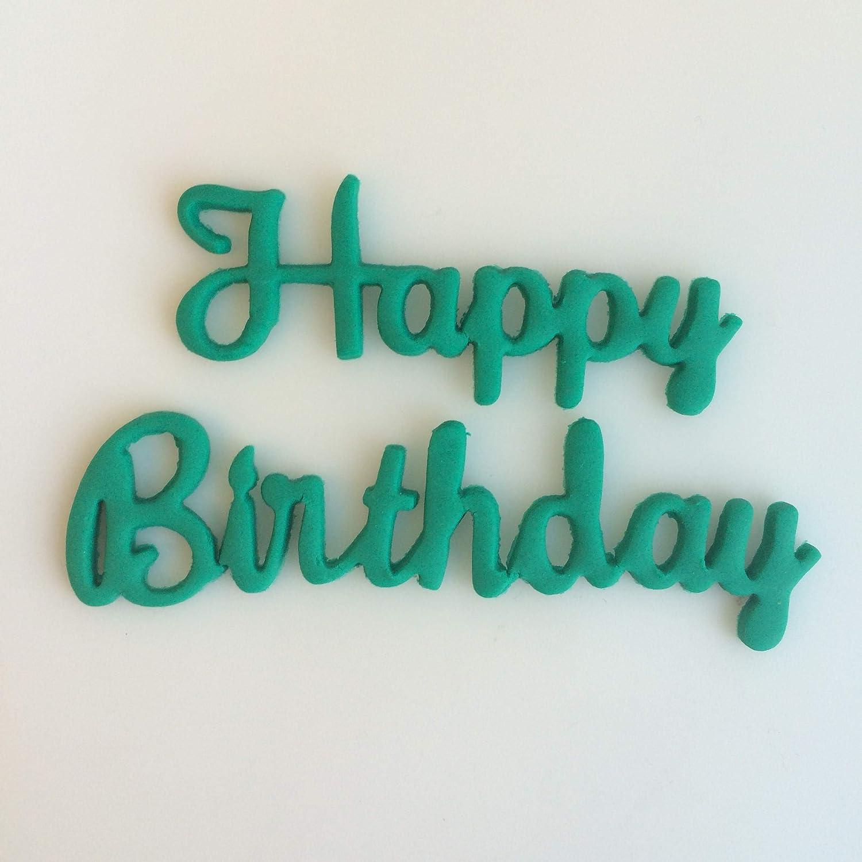 Happy Birthday Cursive 266-B524 Cookie Cutter