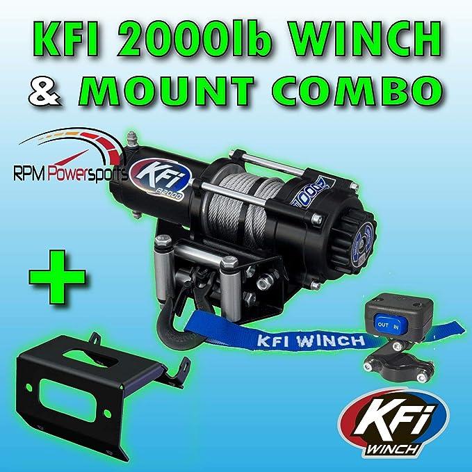 100725 Kfi 100725 winch mount
