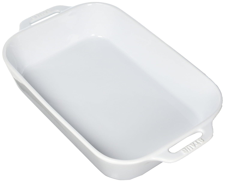 Staub 40508-597 Ceramics Rectangular Baking Dish, 13x9-inch, White