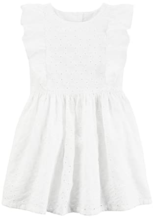 Amazon Carters Little Girls Striped Dress Toddlerkids